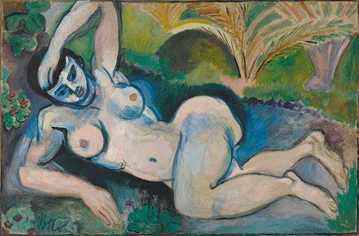 Blue Nude (1907), Henri Matisse. Baltimore Museum of Art
