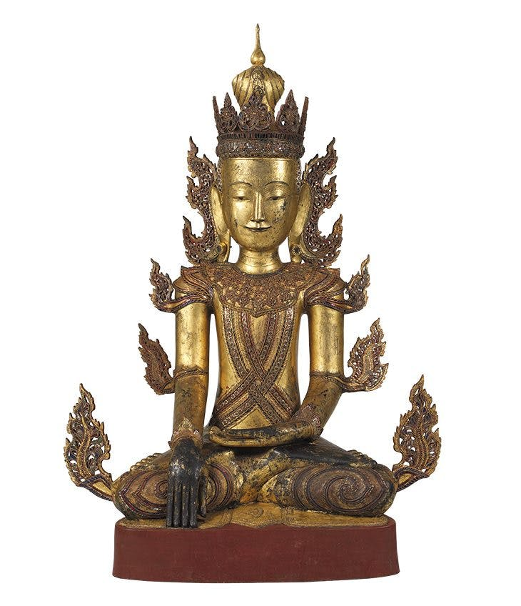 Seated Buddha (18th–19th century), Burmese. Walters Art Museum, Baltimore