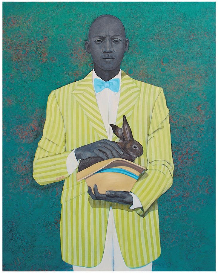The Rabbit in the Hat (2009), Amy Sherald. Baltimore Museum of Art
