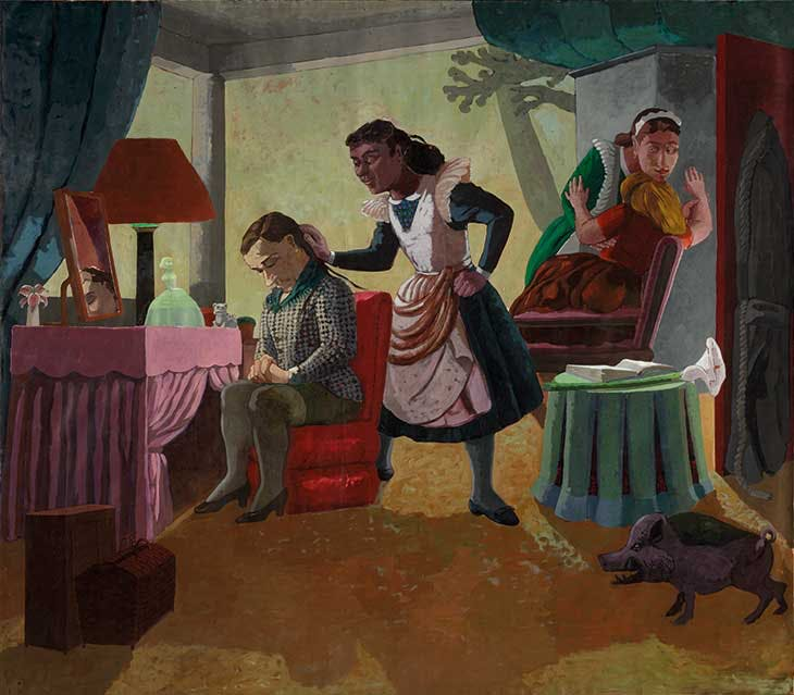 The Maids (1987), Paula Rego.