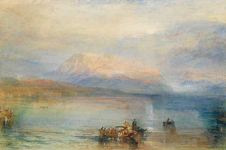 The Red Rigi (1842), J.M.W. Turner. National Gallery of Victoria, Melbourne