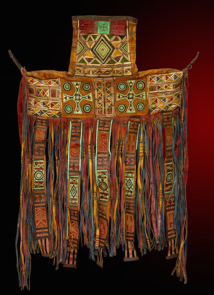Saddle bag by a Tuareg artist from Niger.