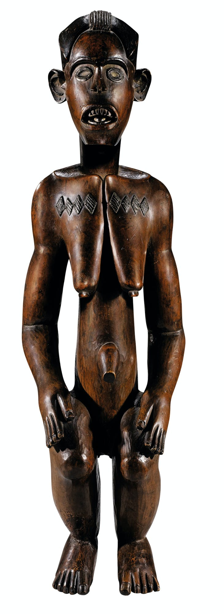 Statue of a woman (19th century), Fang Mabea, Cameroon.