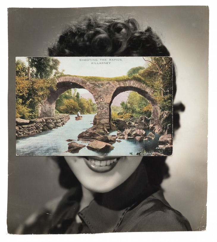 Mask (Film Portrait Collage) CLXXIII (2014), John Stezaker.