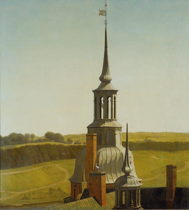 One of the Small Towers on Frederiksborg Castle (c. 1834–35), Christen Købke.