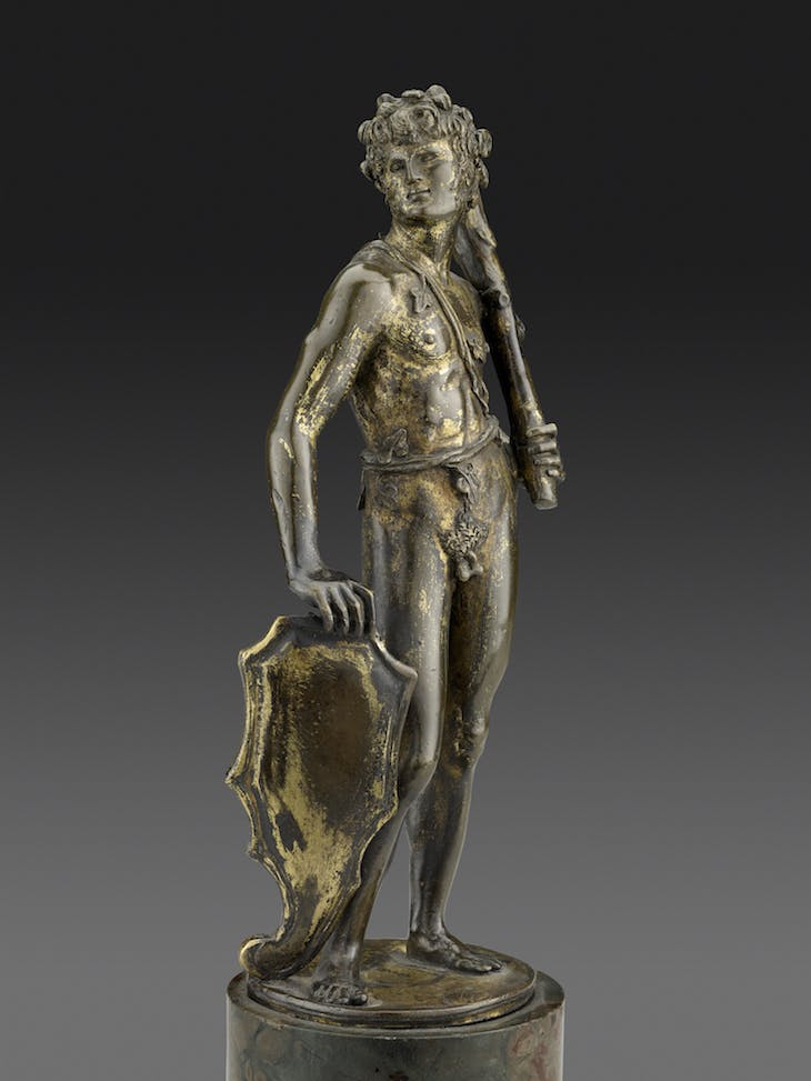Shield Bearer (c. 1470–80), Bertoldo di Giovanni.