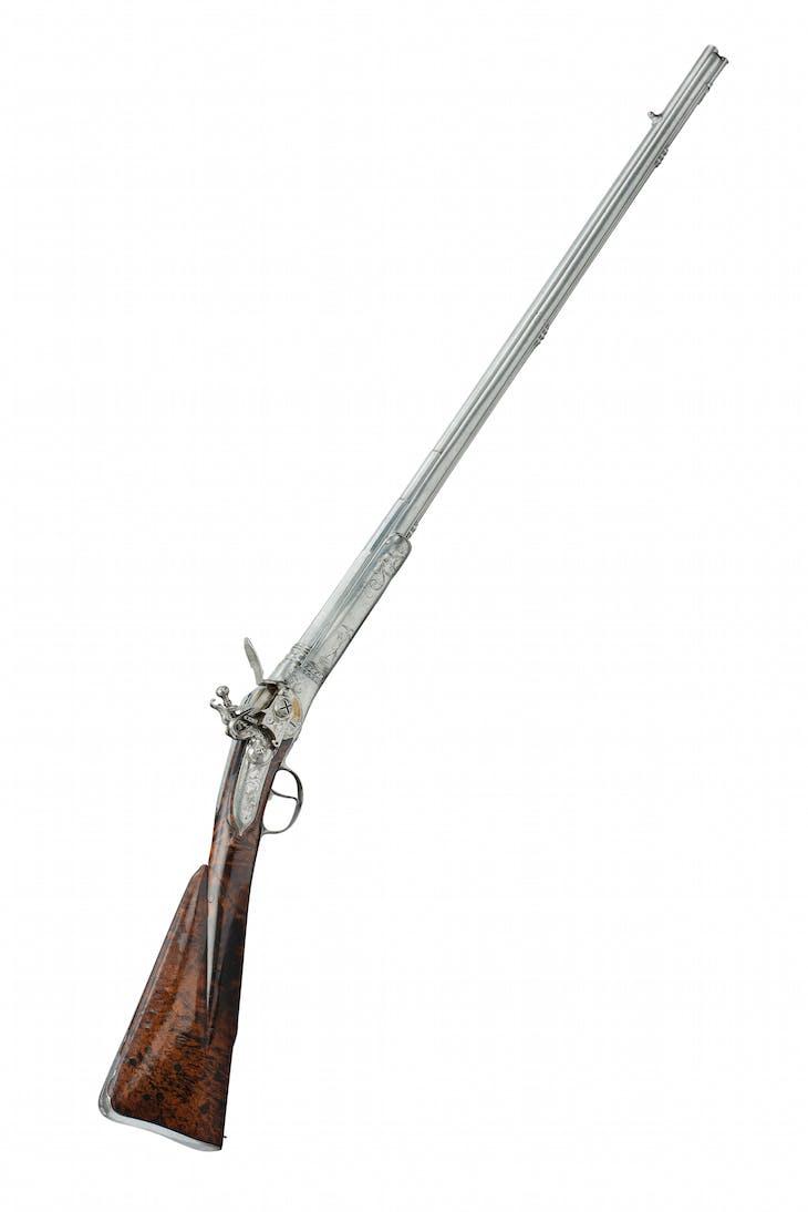 Breech-loading repating flintlock gun (c. 1700), Michele Lorenzoni.