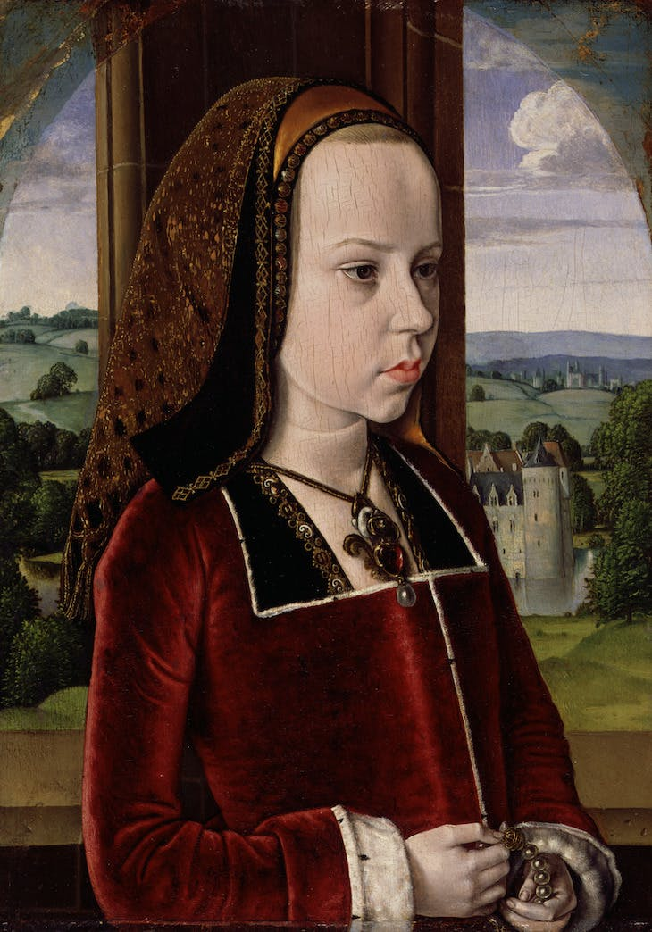 Margaret of Austria (c. 1490/91), Jean Hey.