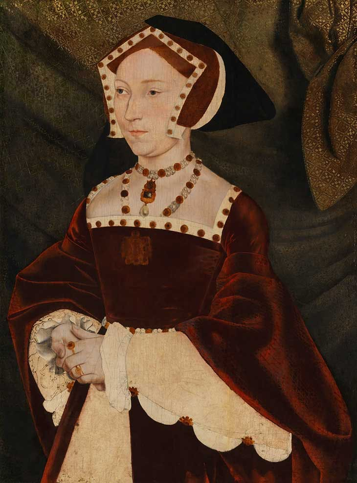 Jane Seymour (c. 1537), after Hans Holbein the Younger.
