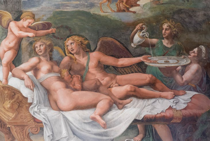 Detail of a fresco from the Sala di Amore at the Palazzo Te (1524–34), Giulio Romano and workshop.