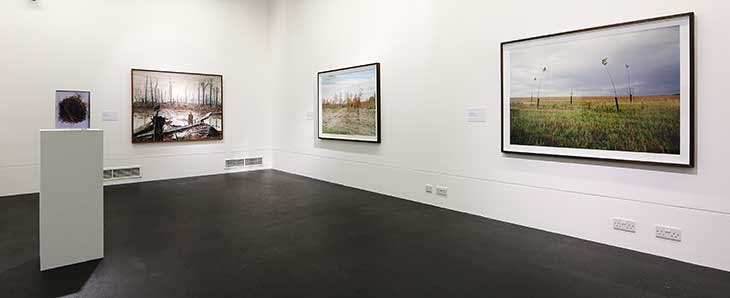 Installation view of 'A Name Unmade: Francis Ledwidge (1887–1917)' at Nerve Visual Gallery, Derry, in 2017.