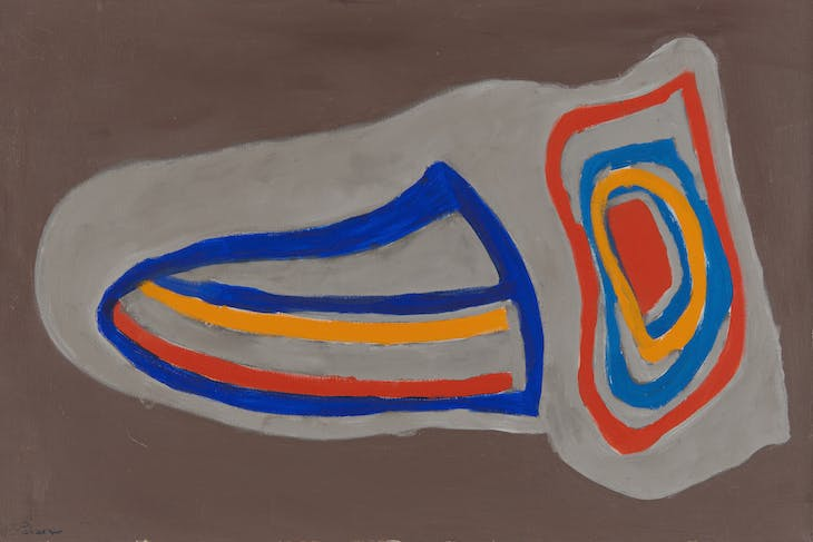 Horton's Point (1968), Betty Parsons.