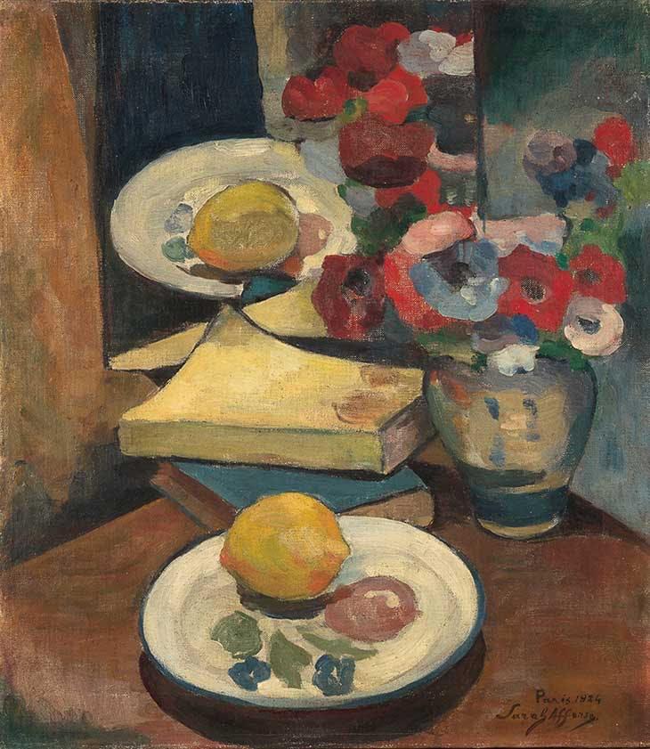 Anemones (1924), Sarah Affonso.
