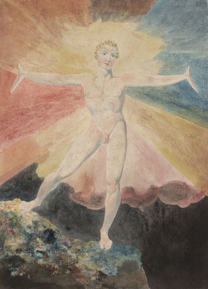 Albion Rose (c. 1793), William Blake.