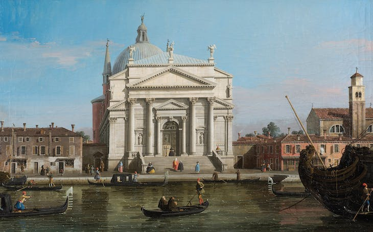 The Redentore, Venice (c. 1746), Canaletto.