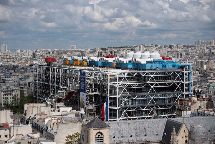 The Pompidou Centre, Paris.