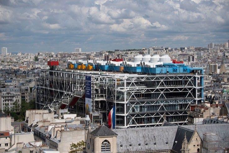 The Pompidou Centre, Paris.