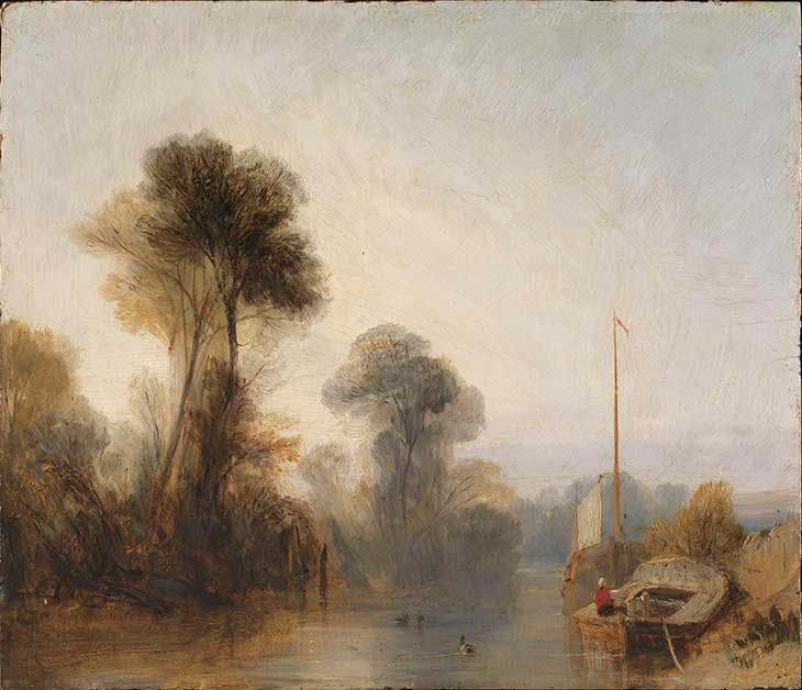 View on the River Seine – Morning (c. 1825), Richard Parkes Bonington.