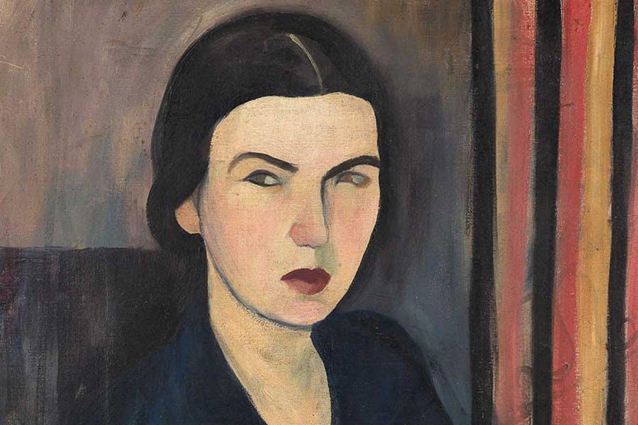 My Self-portrait (detail; 1927), Sarah Affonso.