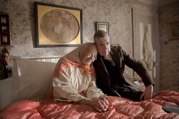 Vanessa Redgrave and Timothy Spall in Mrs Lowry and Son (2019)