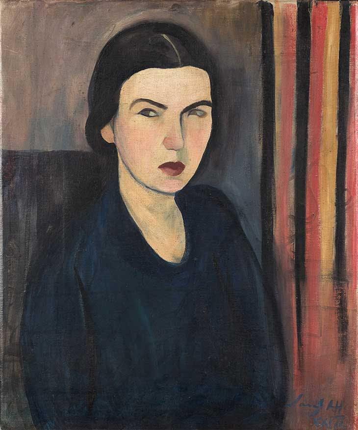 My Self-portrait (1927), Sarah Affonso.