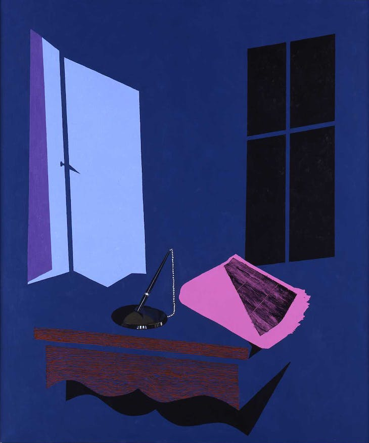 Evening Paper (1999), Patrick Caulfield.