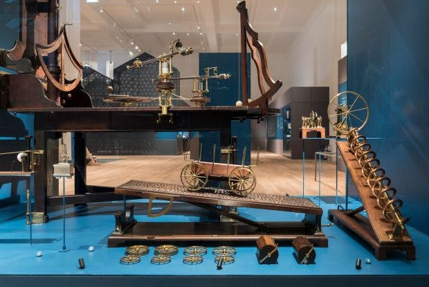 A 'philosophical table' in Science City at the Science Museum, London. Photo: © Jody Kingzett/Science Museum Group
