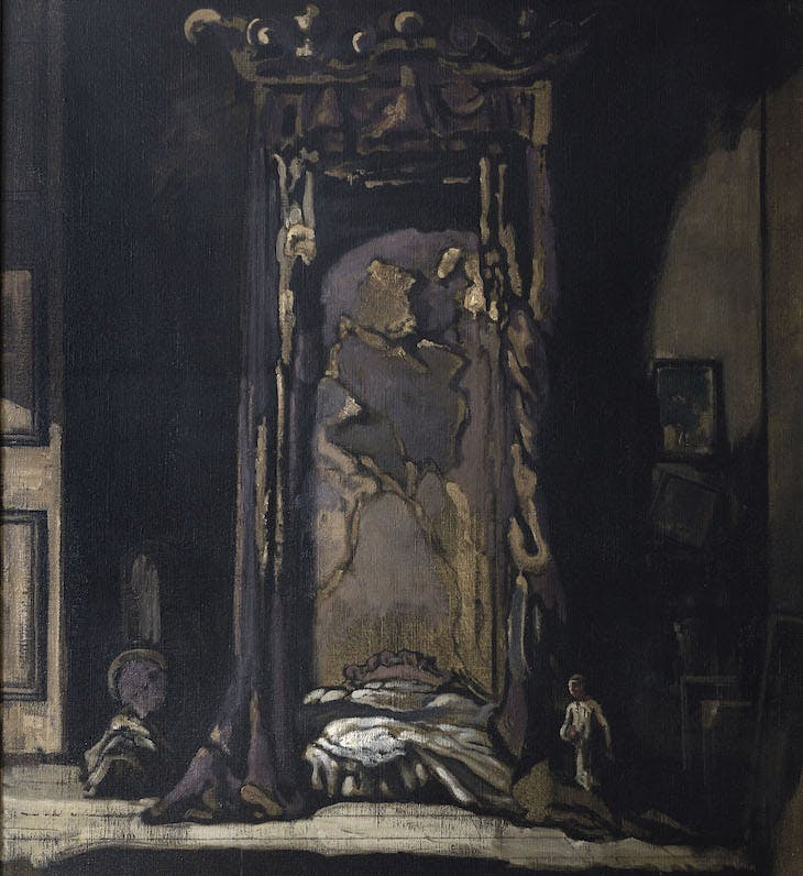 The Derelict (c. 1920), James Pryde.