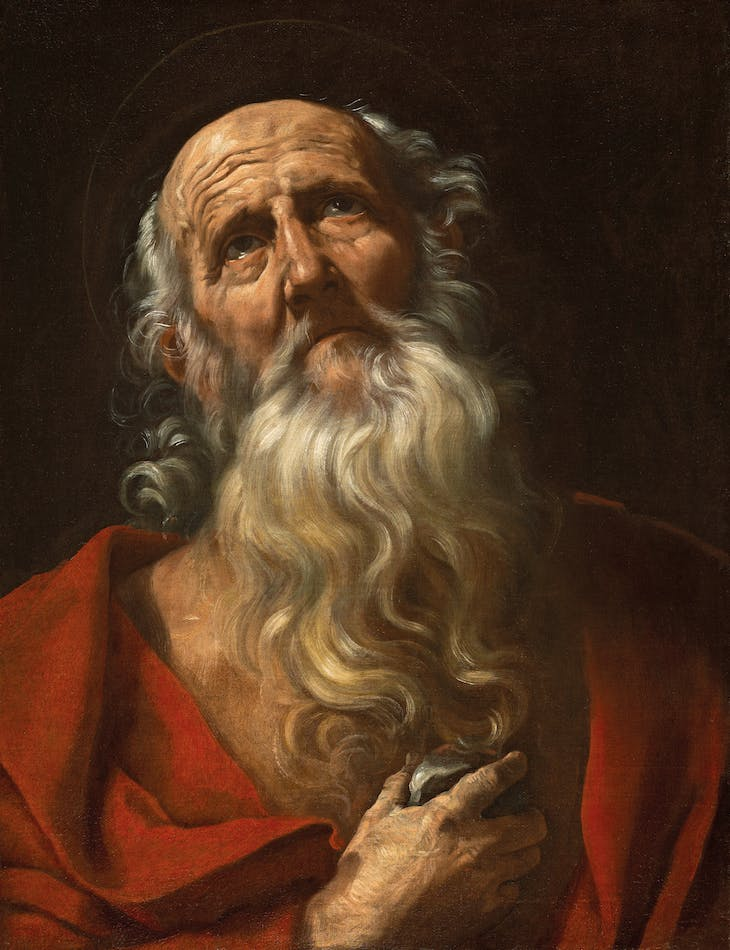 Saint Jerome (1606/10), Guido Reni.
