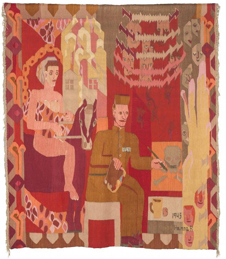 Grini (1945), Hannah Ryggen.