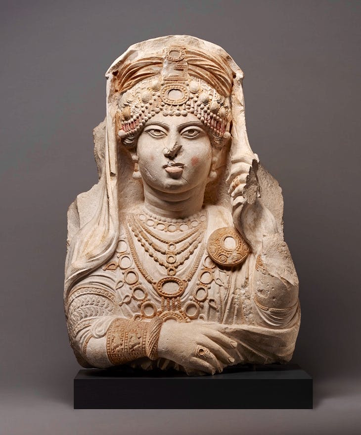 Jewel of Palmyra (190–210), Palmyra.