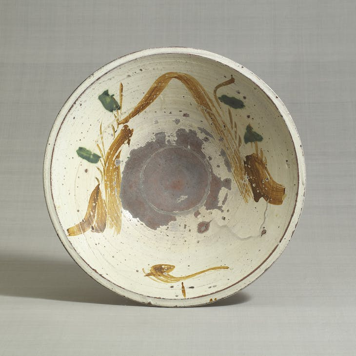 Bowl (c. late 18th century–19th century), Takeo Karatsu ware, Japan.