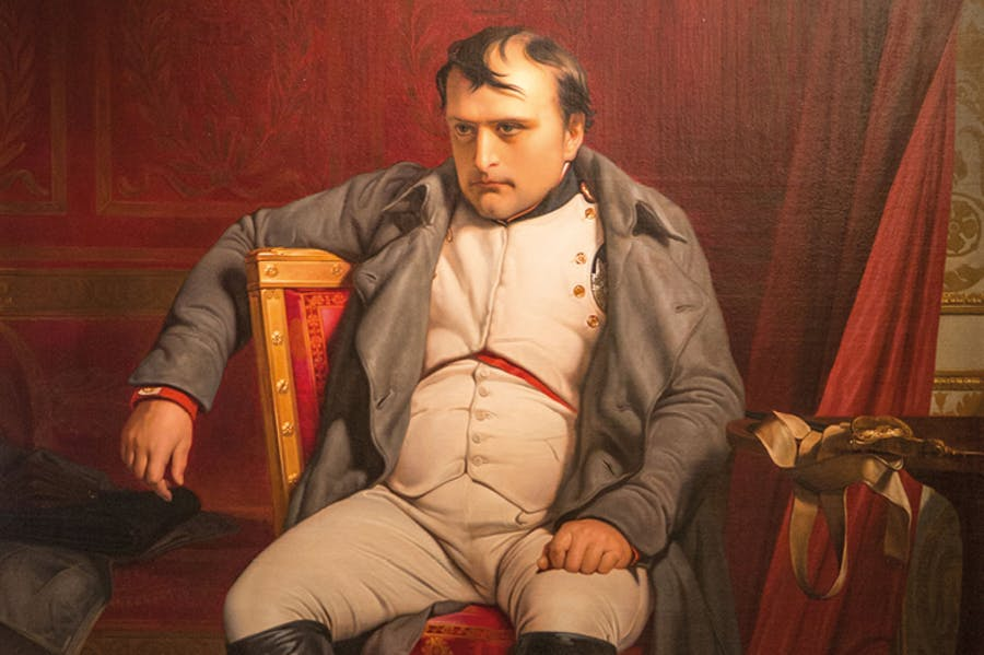 Napoleon at Fontainebleau, 31 March 1814 (1840), Paul Delaroche.