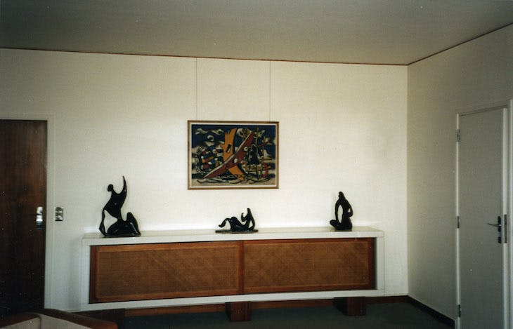 The apartment of Maurice Jardot in Paris (1967–87), Charlotte Perriand