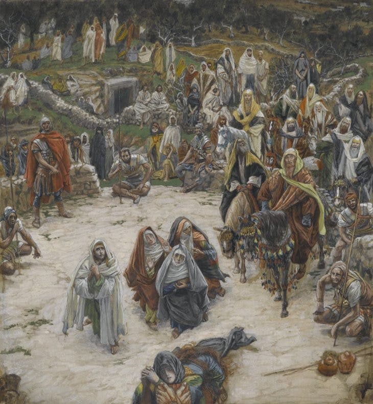 What Our Lord Saw from the Cross (1886–94), James Tissot.