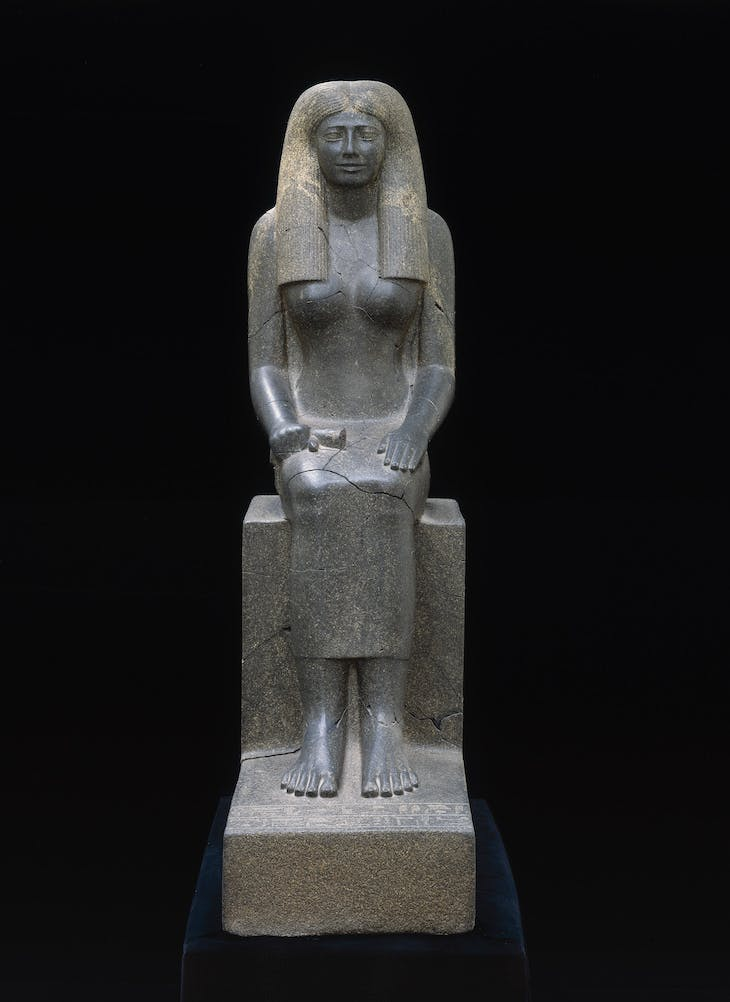 Statue of Lady Sennuwy (1971–1926 BC), Egyptian.