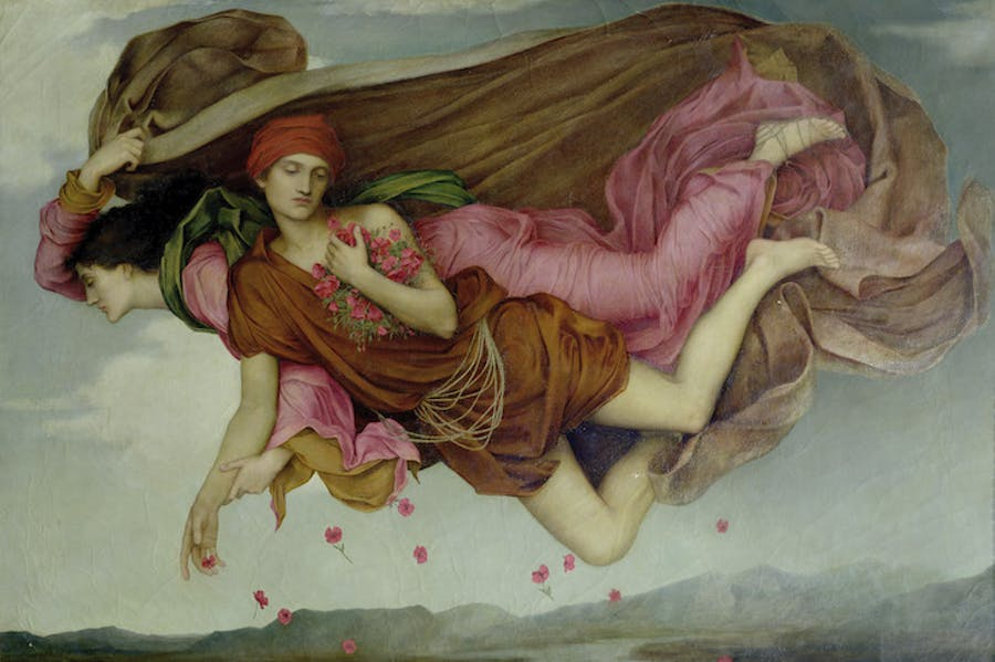 Night and Sleep (1878), Evelyn De Morgan.