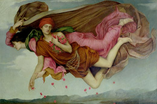 Night and Sleep (1878), Evelyn de Morgan. De Morgan Collection.