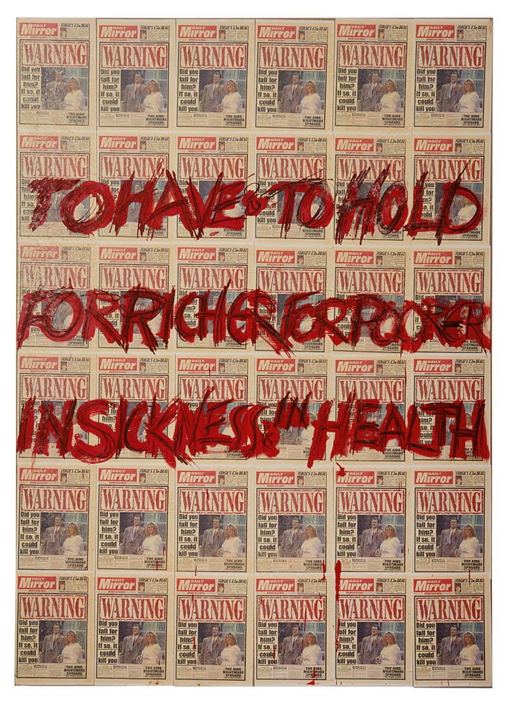 To Have and to Hold (1992), Derek Jarman. Courtesy Irish Museum of Modern Art/Amanda Wilkinson; © The Keith Collins Will Trust