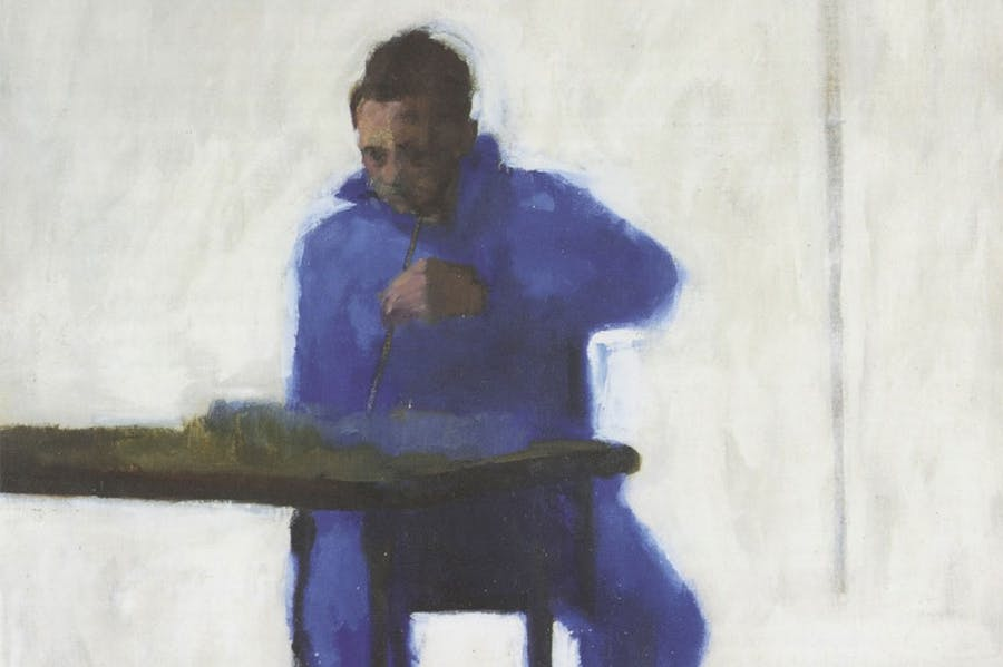 Self-portrait (detail; 1957), Victor Willing.