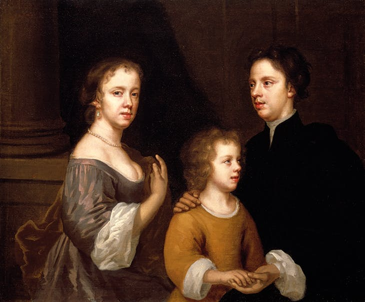 Self-portrait of Mary Beale with her Husband and Son (c. 1659–60), Mary Beale. Geffrye Museum of the Home, London