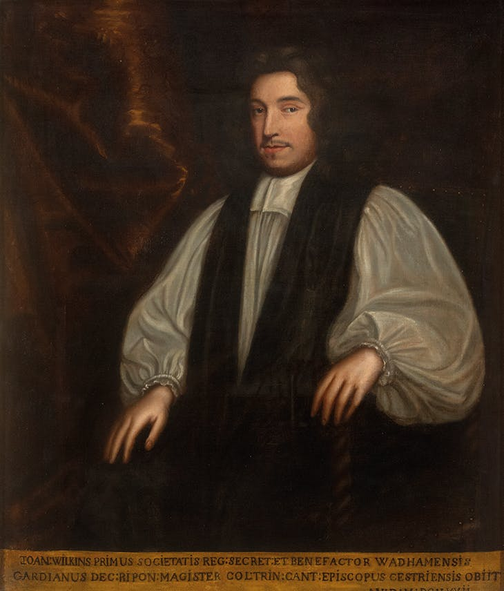 Dr John Wilkins, Bishop of Chester (c. 1670–72), Mary Beale. Royal Society, London