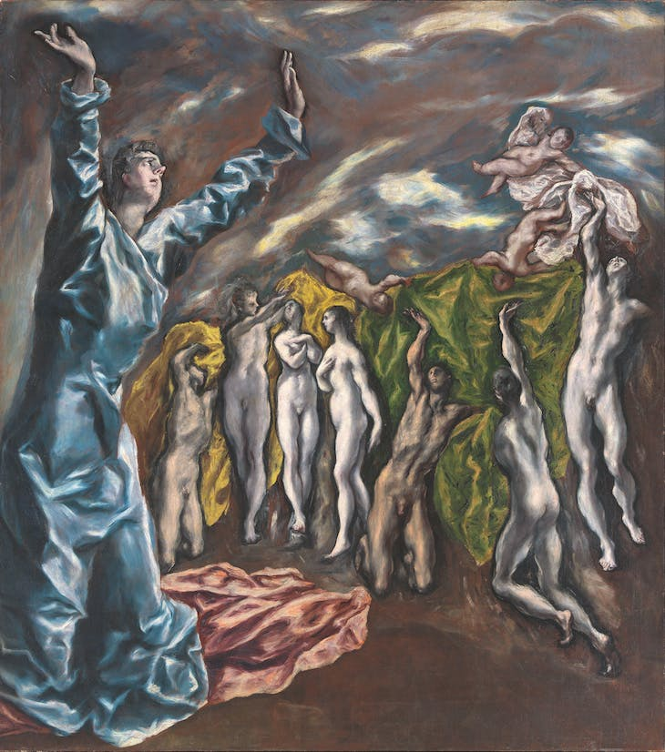 The Vision of St John (1610–14), El Greco.