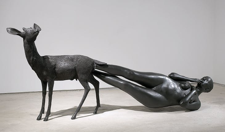 Born (2002), Kiki Smith. Courtesy Pace Gallery; © Kiki Smith