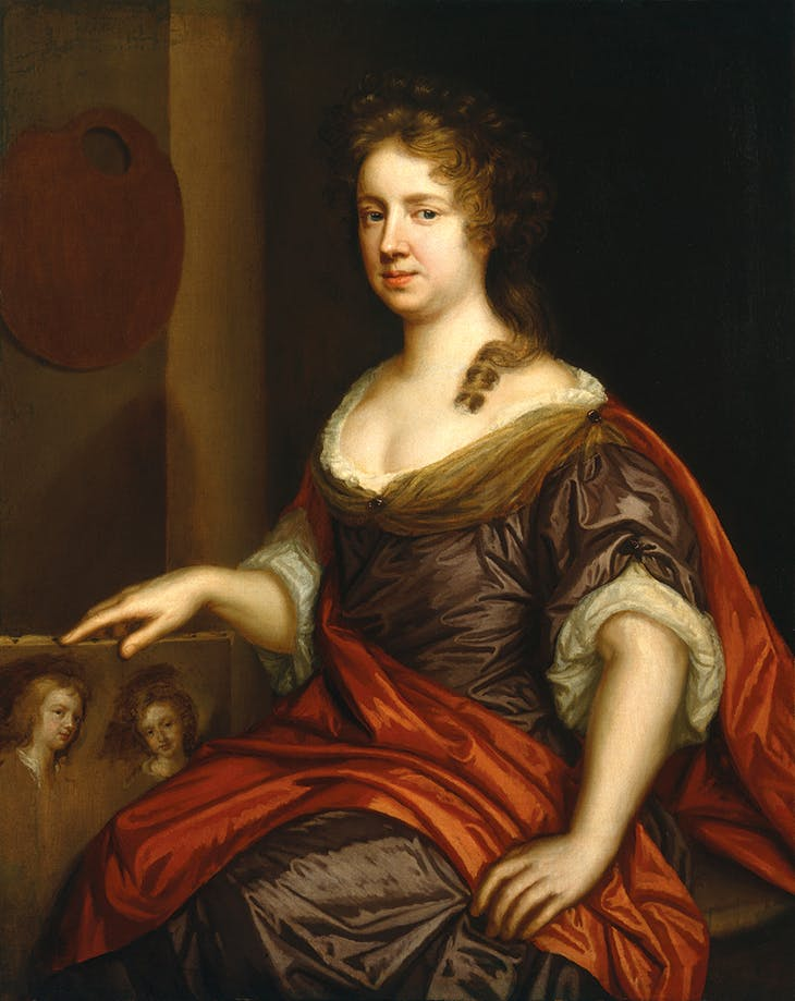 Self-portrait (c. 1666), Mary Beale. National Portrait Gallery, London