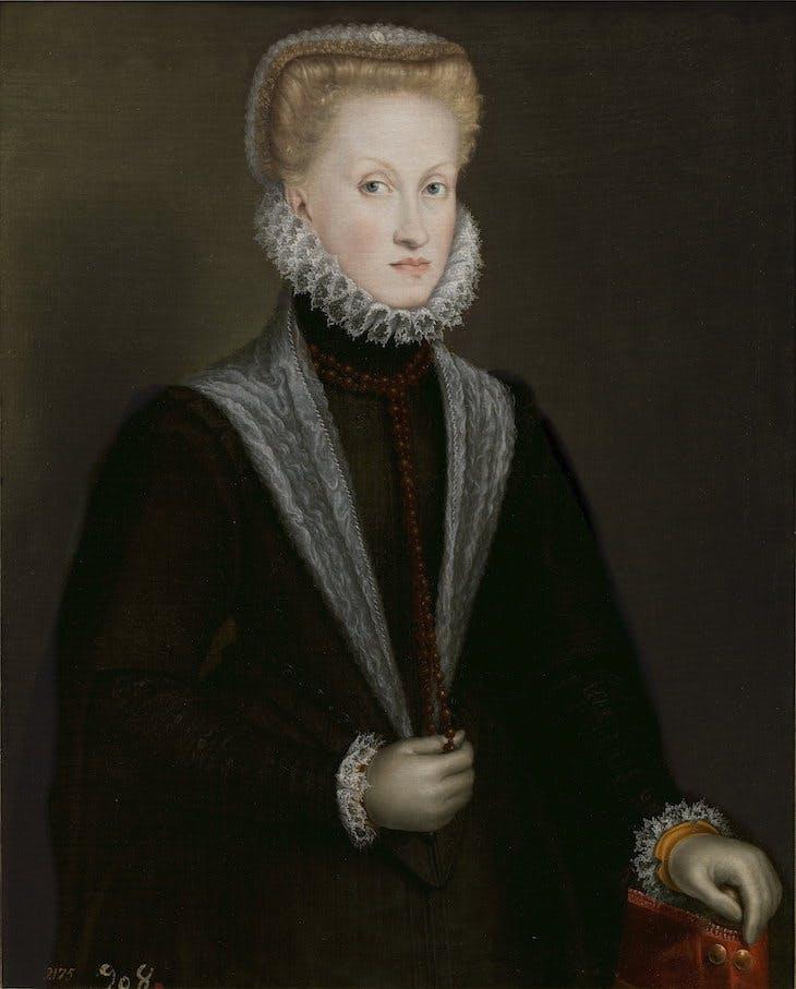 Queen Anna of Austria (c. 1573), Sofonisba Anguissola.