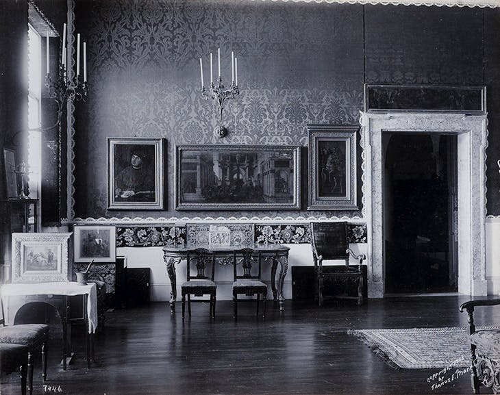 Raphael Room, Isabella Stewart Gardner Museum (1903), Thomas E. Marr and Son.