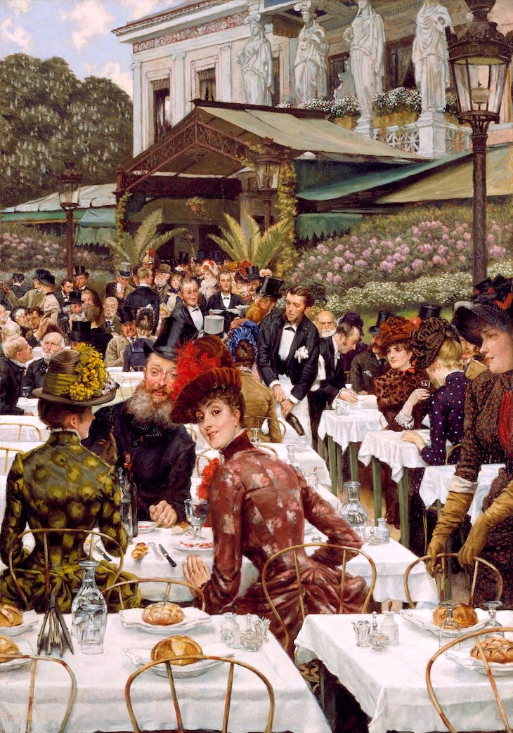 La Femme à Paris: The Artists' Wives (1885), James Tissot.