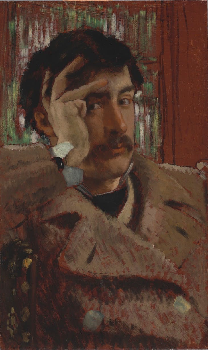 Self Portrait (c. 1865), James Tissot.