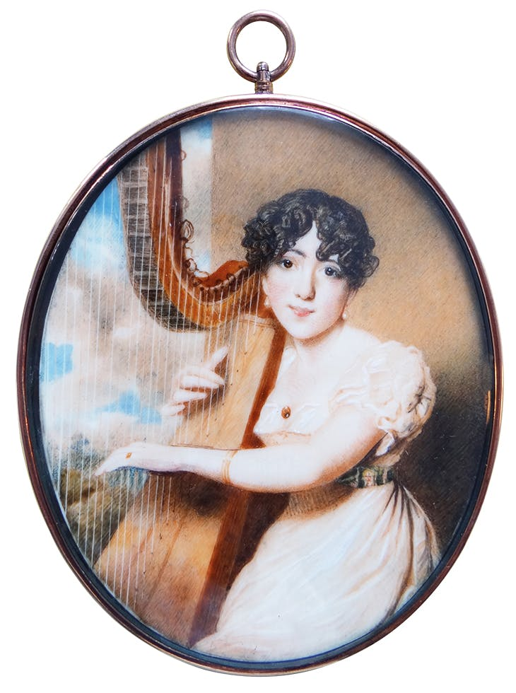 Jane Eliza Russell, Lady Russell (1816), Maria Bellett Browne. Elle Shushan (price on application)